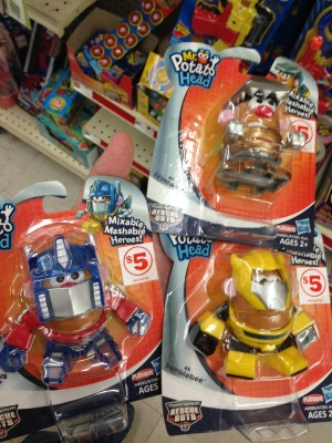 Transformers News: Transformers Mr. Potato Head Retail Sighting At Family Dollar