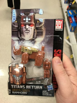 First Sighting of Transformers Titans Return Ramhorn at US Retail