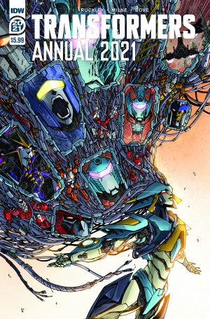 IDW Transformers Annual 2021 Review
