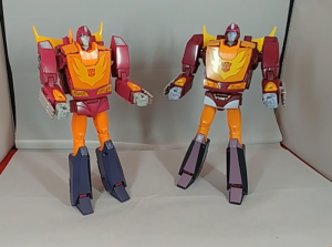 Video Review of Takara Tomy Transformers Masterpiece MP-40 Targetmaster Hot Rodimus