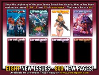 Upcoming Issues of Cereal:Geek Features Transformers Covers