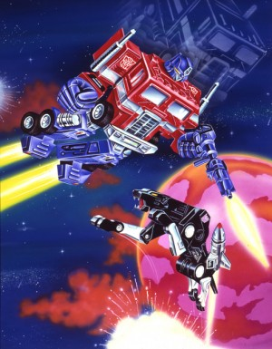 Interview with vintage Transformers box artwork artist Mark Watts