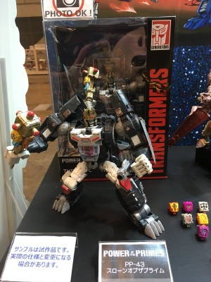 Transformers News: Takara Tomy Releasing Transformers Power of the Primes Grotusque, Repugnus, Throne of the Primes #ワンフェス  #wf2018s