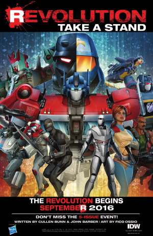 IDW Hasbro Comics Crossover: Revolution - Road to Revolution and Reading Order