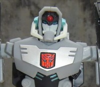 Transformers News: Back Package Image For Takara Version Transformers Animated Shockwave