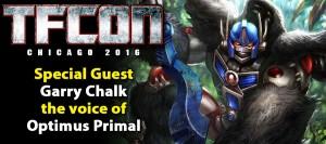 Transformers News: TFcon Chicago 2016 Guest Update - Garry Chalk