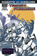 Transformers News: Sneak Peek: Transformers: Robots in Disguise Ongoing #22