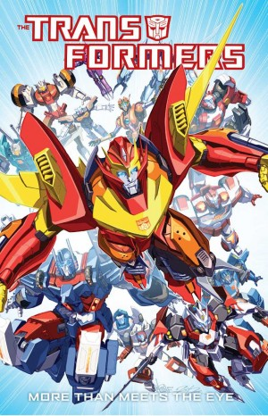 Transformers News: IDW Transformers: More Than Meets The Eye #1 Original Script Excerpts