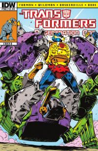 Transformers News: Transformers: Regeneration One #90 Preview