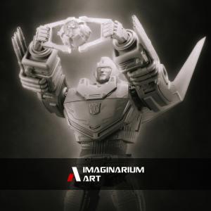 Transformers News: New Image of Imaginarium Art Rodimus Prime
