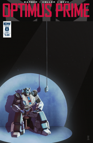 Transformers News: Review of IDW Optimus Prime #8 #transformers