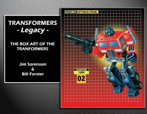 Transformers News: Amazon lists Pre-order for Transformers Legacy: A Celebration of Transformers Package Art