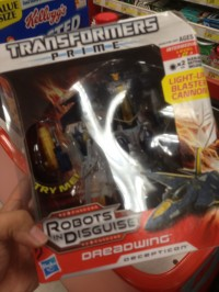 Transformers News: Transformers Prime Voyager Dreadwing Sighted at Retail