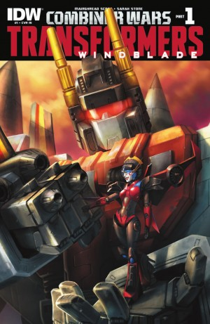 Transformers News: IDW Transformers: Combiner Wars Windblade #1 Review