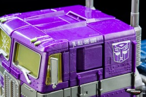 Masterpiece Shattered Glass Optimus Prime image from Hasbro Asia