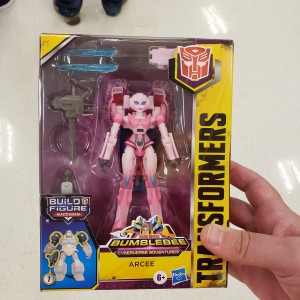 Transformers Cyberverse Deluxe Class Arcee Found At US Retail and Mini Review