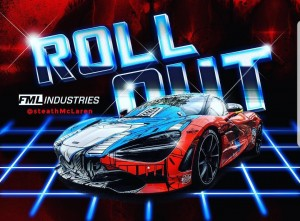 """Transformers News: Mike Owens' """"Team Autobots"""" to Race in Gold Rush Rally 2018 With Transformers Inspired McLaren #grx2018"""
