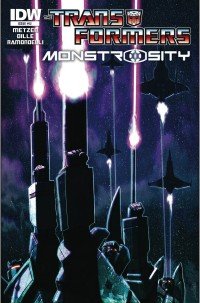 Transformers News: Transformers: Monstrosity #12 Cover Revealed