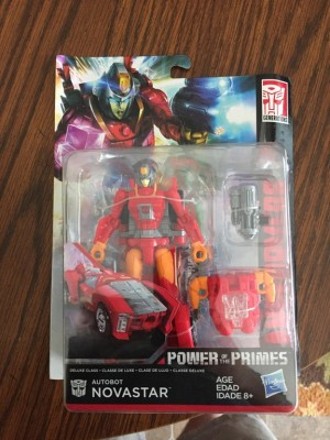 Transformers News: Power of the Primes Wave 4 Deluxe Novastar found at U.S. retail