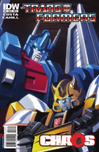 Transformers News: Transformers Ongoing #27 Preview