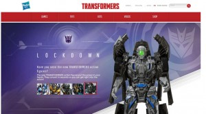 Hasbro Transformers: Age of Extinction Website Updated: Games, Bios, Product Descriptions