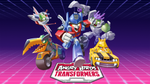 New Transformers / Angry Birds Books Listed on Amazon