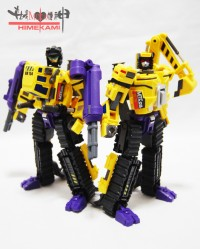 MakeToys Giant Series Excavator and Bulldozer Pictorial Review