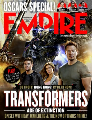 Transformers News: Empire Magazine January Edition Cover Reveals First Official Look at Transformers: Age of Extinction Optimus Prime CGI Model