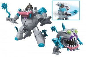 Video Review of Transformers Cyberverse Mace Mash Gnaw