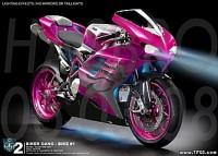 Transformers News: Seibertron.com interviews Arcee bike creator Will Kenefick of RetroSBK