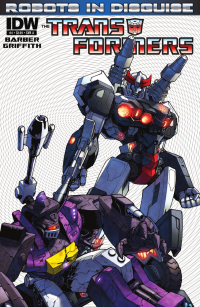 Transformers News: Seibertron.com Reviews IDW Transformers: Robots in Disguise issue 4