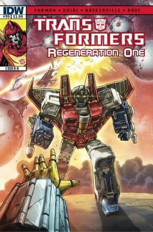 Transformers News: Sneak Peek - Transformers: ReGeneration One #99
