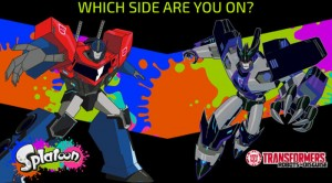 Transformers News: Nintendo Splatoon Autobots vs Decepticons - Results and Micro Review