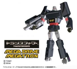 Transformers News: Takara Tomy Sega Mega Drive Megatron