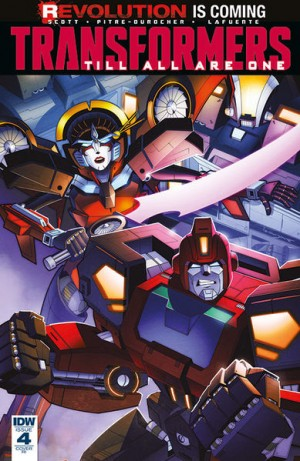 Transformers News: IDW Transformers: Till All Are One #4 Review