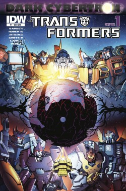 Transformers News: Dark Cybertron - James Roberts and John Barber Interview with Comic Book Resources
