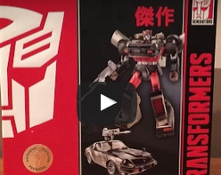 Video Review of ToysRus Exclusive: Hasbro Transformers Masterpiece Bluestreak