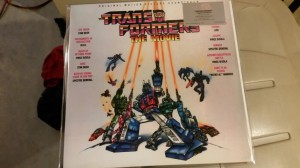 1986 Transformers The Movie Soundtrack Reissue In-hand Images