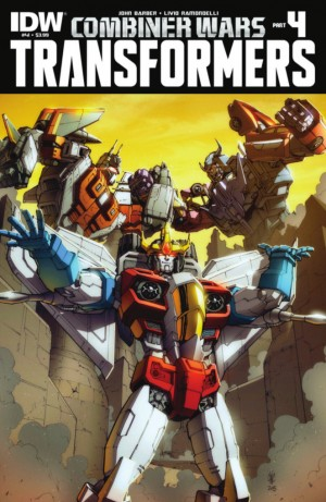 Transformers News: IDW Transformers: Combiner Wars #4 - The Transformers #41 Full Preview