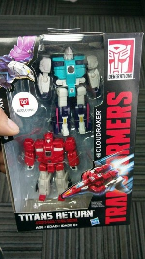 Transformers News: Titans Return Clone Two-Pack Image, Revealed as Walgreens Exclusive