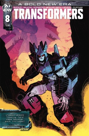 IDW Transformers Number 8 Includes Trading Card Game Booster Pack