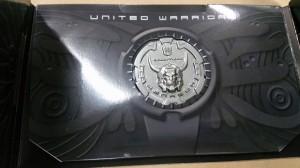 Takara Transformers Unite Warriors UW-02 Menasor Collector Coin