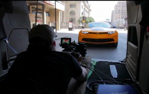 Behind the Scenes at Transformers: Age of Extinction Movie Collection TV Shoot