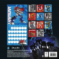 Transformers News: Official Transformers Prime 2013 Calendar