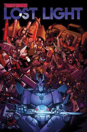 Transformers News: Listing for IDW Transformers: Lost Light Volume 3 TPB