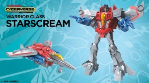 Video Review of Cyberverse Warrior Starscream Reveals Gimmick and Lack of Leg Articulation