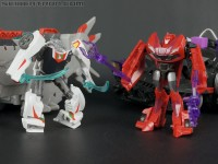 Transformers News: New Cyberverse galleries: Star Hammer with Wheeljack and Energon Driller with Knock Out