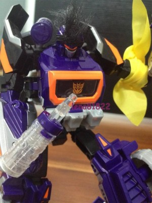 "Transformers News: In-Hand Images: SDCC 2014 ""Knights of Unicron"" Optimus Prime, Jazz, and Soundwave"
