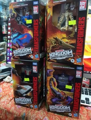 Kingdom Wave 3 Deluxes Out in Singapore Giving us a Look at the Packaging