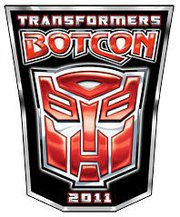 Transformers News: BotCon 2011 - New Hotel Block and the End of the First 100 Pin